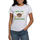Mother birthday monkey Tops