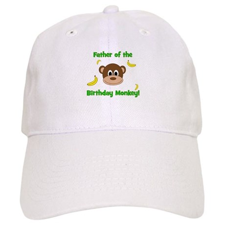 Father of the Birthday Monkey! Baseball Cap