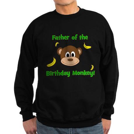 Father of the Birthday Monkey! Sweatshirt