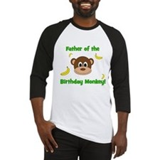 Father of the Birthday Monkey! Baseball Jersey