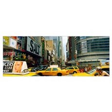 Times Square, Manhattan, New York City, New York S Framed Print