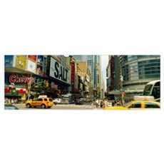 Times Square, Manhattan, New York City, New York S Canvas Art