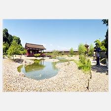 Toin Teien Garden, Heijo Palace, Nara Prefecture,