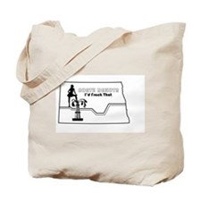 Frack Girl Tote Bag