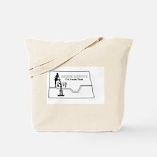 Frack Girl Tote Bag