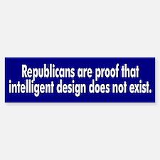 REPUBLICANS... Bumper Bumper Bumper Sticker