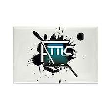 Attic Splat Logo Rectangle Magnet