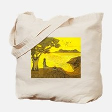 Moon Over My Geckos Too Tote Bag