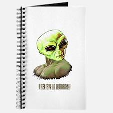ALIEN FACE ILLUSTRATION ART Journal