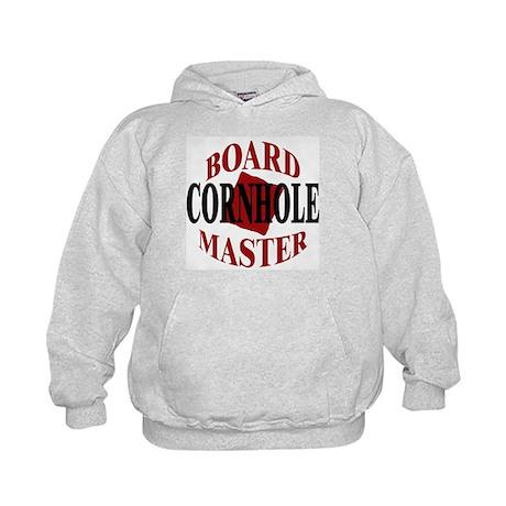 Cornhole Board Master Kids Hoodie