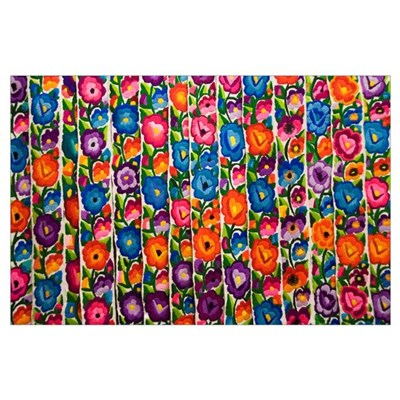Gautemala, Chichicastenango, Brightly Colored Hand Poster