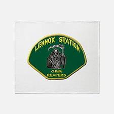 Lennox Station Throw Blanket
