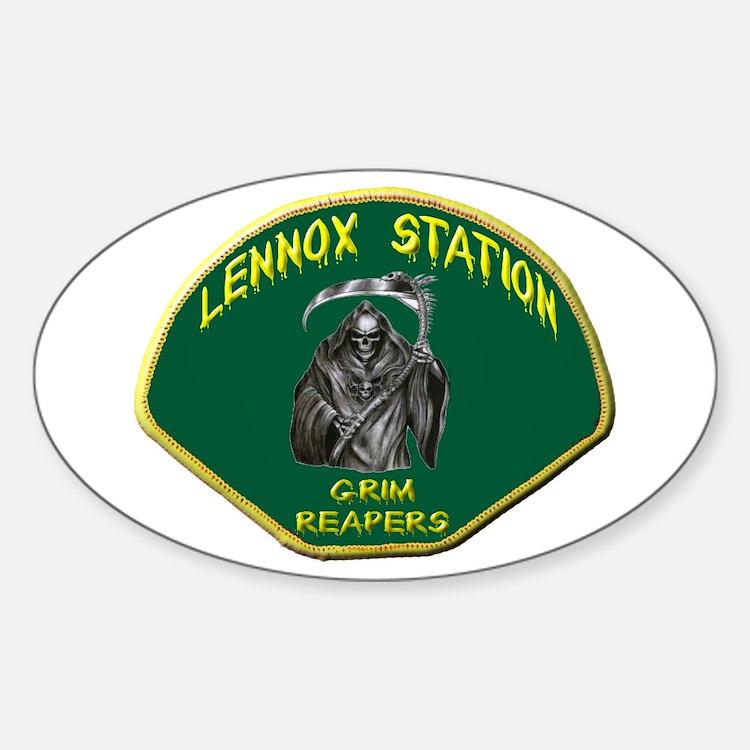 Lennox Station Decal