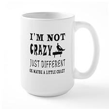 I'm not Crazy just different Gymnastics Mug