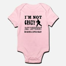 I'm not Crazy just different Paintball Infant Body