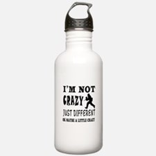 I'm not Crazy just different Paintball Water Bottle