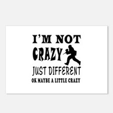I'm not Crazy just different Paintball Postcards (