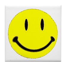 SMILEY FACE III.psd Tile Coaster