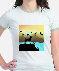 Many Dogs by the Sea T