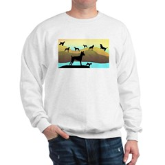 Many Dogs by the Sea Sweatshirt