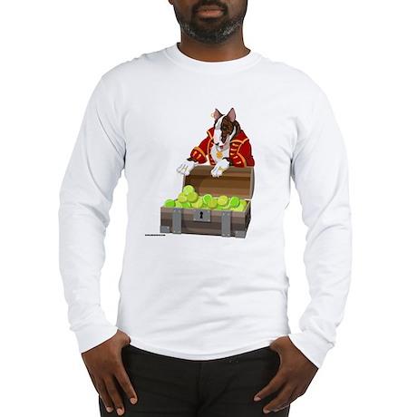 English Bull Terrier Pirate Long Sleeve T-Shirt