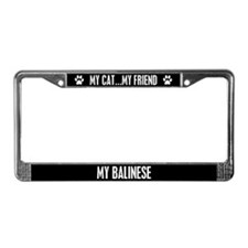 Balinese License Plate Frame