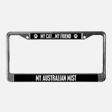 Australian Mist License Plate Frame