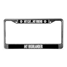 Highlander License Plate Frame