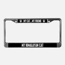 Himalayan Cat License Plate Frame