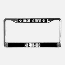 Pixie-Bob License Plate Frame