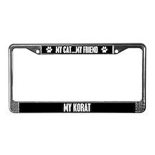Korat License Plate Frame