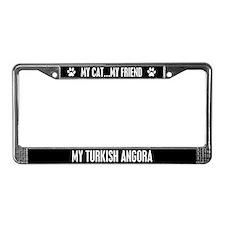 Turkish Angora License Plate Frame