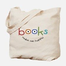 Cute Book Tote Bag