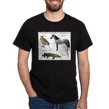 North Dakota State Animals T-Shirt