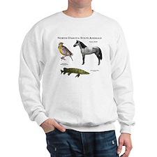 North Dakota State Animals Sweatshirt