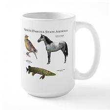 North Dakota State Animals Mug