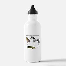 North Dakota State Animals Water Bottle