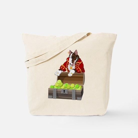English Bull Terrier Pirate Tote Bag