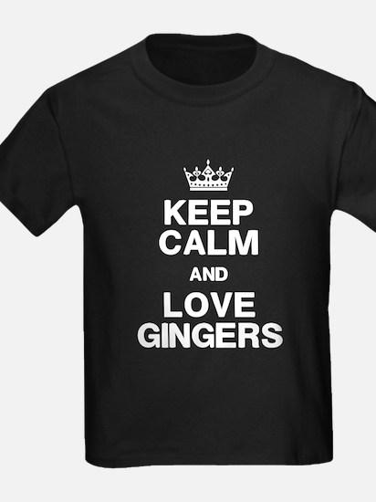 Keep Calm Love Gingers T-Shirt