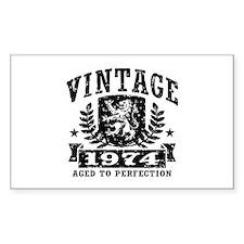 Vintage 1974 Decal