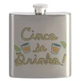 Cinco de drinko Flask Bottles