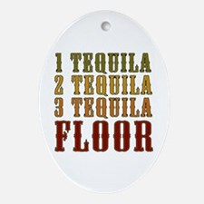 1-tequila-2-tequila.png Ornament (Oval)