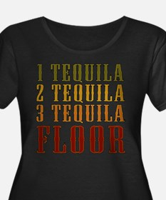 1-tequila-2-tequila.png Plus Size T-Shirt