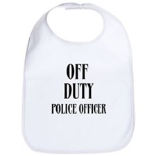 Off Duty Police Officer Bib