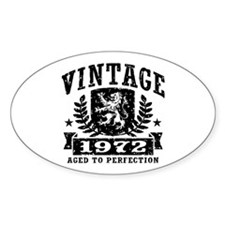 Vintage 1972 Decal