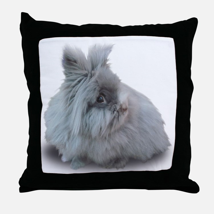 New Jersey Wooly Cleo Throw Pillow