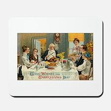 Traditional Thanksgiving Dinn Mousepad