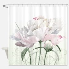 Beautiful Peony Painting Shower Curtain