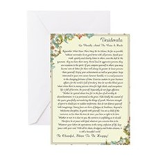 florentine medicea desiderata Greeting Cards (Pk o
