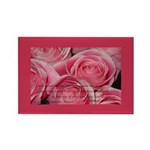 Shower of Roses, St. Therese Rectangle Magnet (100
